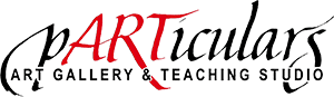 pARTiculars Art Gallery and Teaching Studio Logo