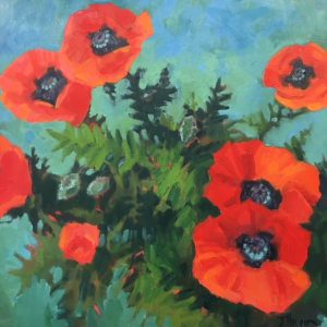 Jeanne Hougan:  Featured Artist for OCTOBER